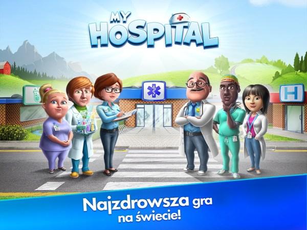 """Polska gra mobilna """"My Hospital"""" zarabia 2,5 mln zł w 10 tygodni!"""