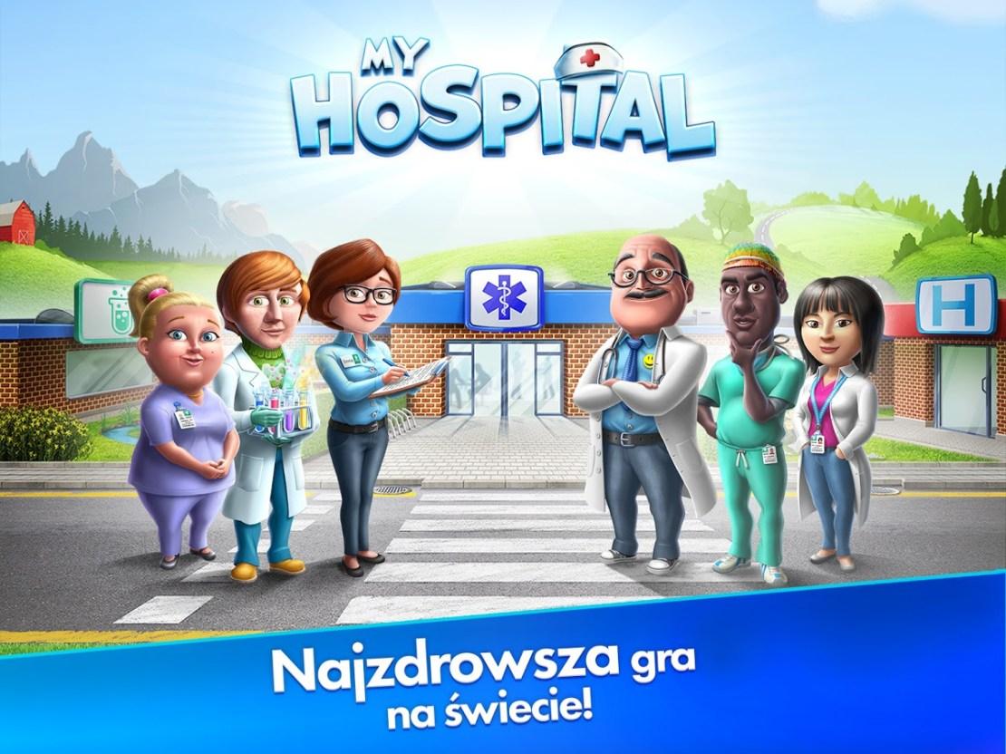 My Hospital - polska gra mobilna, która zarobiła 2,5 mln zł w 10 tygodni