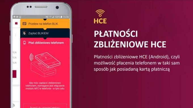 Płatności zblizeniowe HCE w aplikacji mobilnej Alior Bank