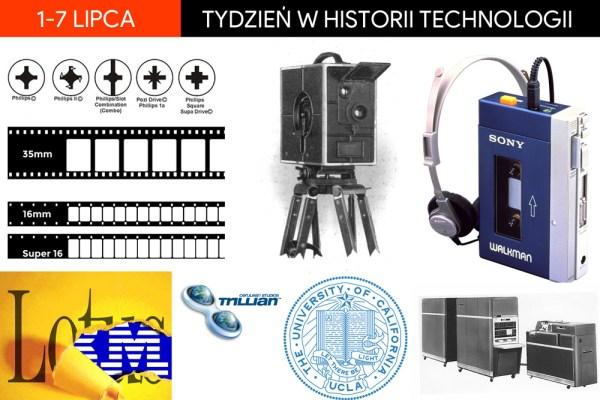 [1-7 lipca] Tydzień w historii technologii