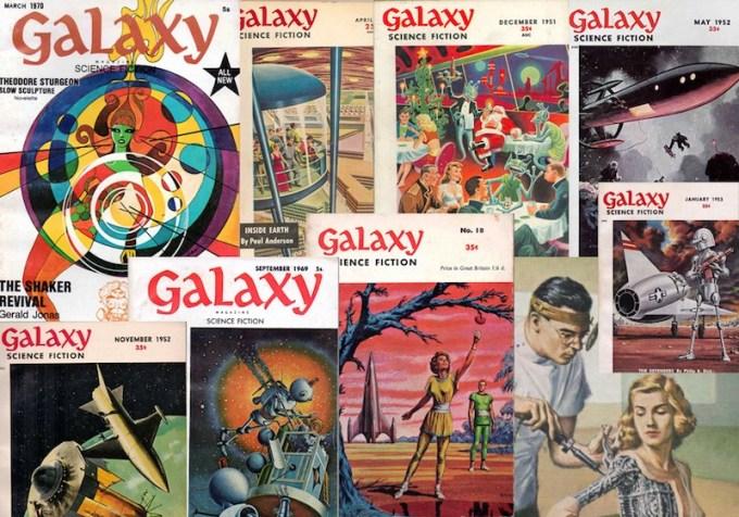 Galaxy Scence Fiction Magazine (archiwum)