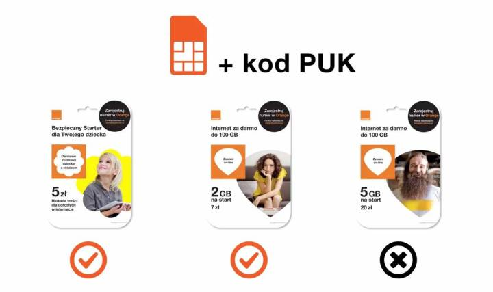 Jak samodzielnie wymienić kartę SIM w Orange i nju mobile?