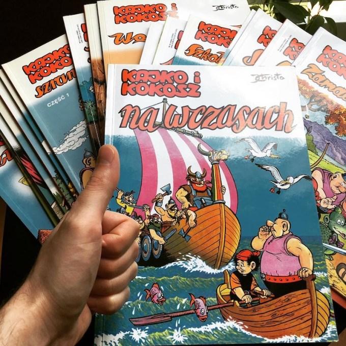 Kajko i Kokosz (Janusz Christa) komiksy