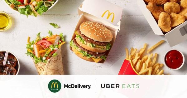 Od dzisiaj McDelivery dostępne w usłudze UberEats