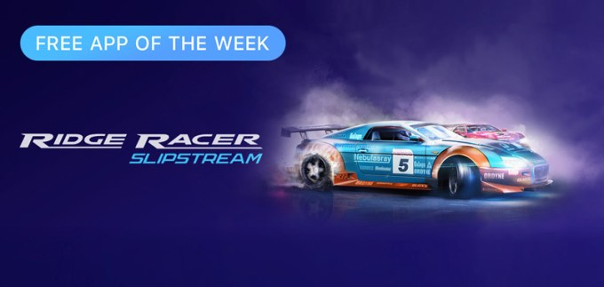 Ridge Racer Splitstream - Free App of the Week