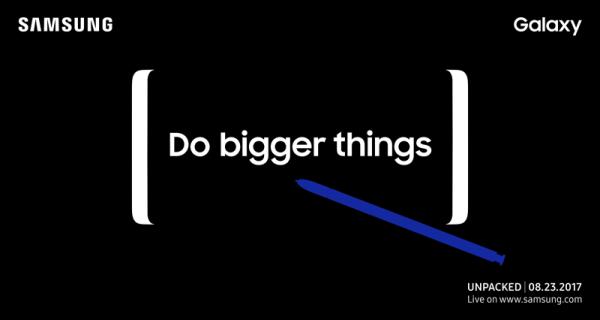 Samsung Galaxy Note 8 zostanie zaprezentowany 23 sierpnia