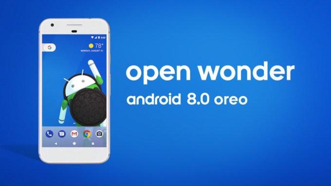 Android 8.0 Oreo - oficjalna grafika