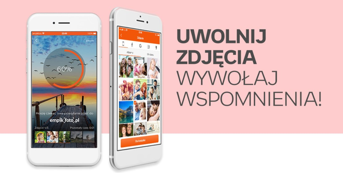 Aplikacja mobilna Empik Foto