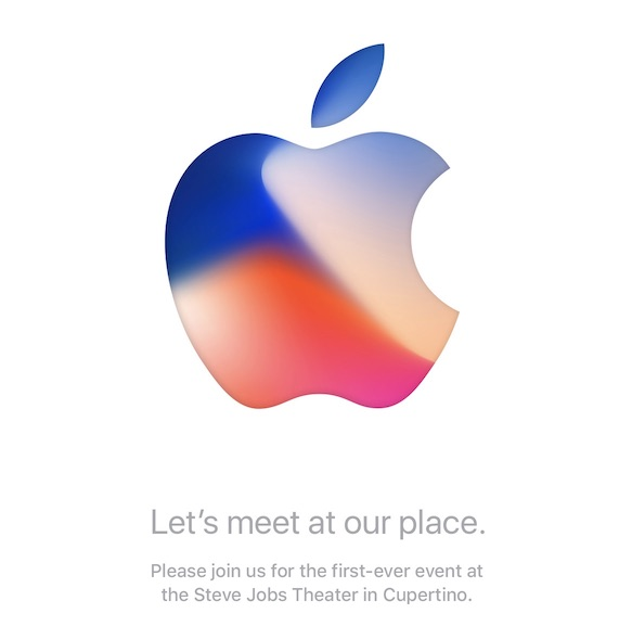 Zaproszenie na Apple Special Event: Let's meet at our place.