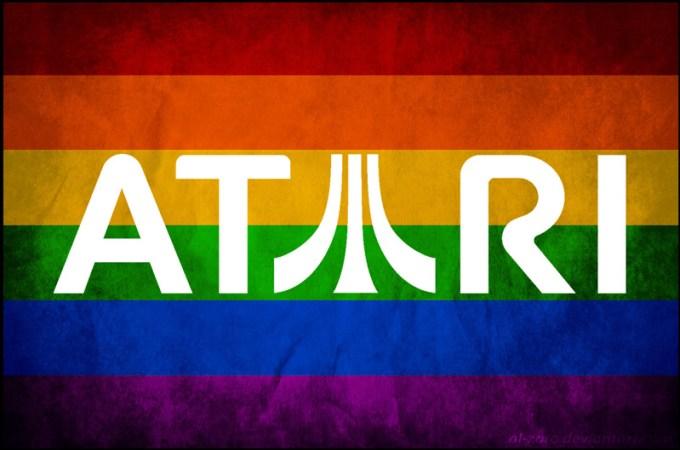 Atari LGBT flaga