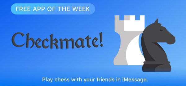 Checkmate! darmową aplikacja tygodnia w App Storze