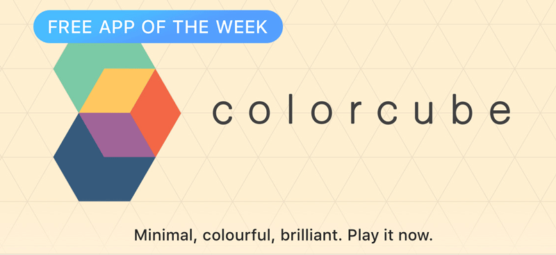 Colorcube - Free App of the Week - App Store