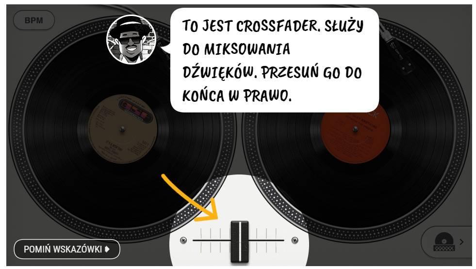 Crossfader - Google Doodle
