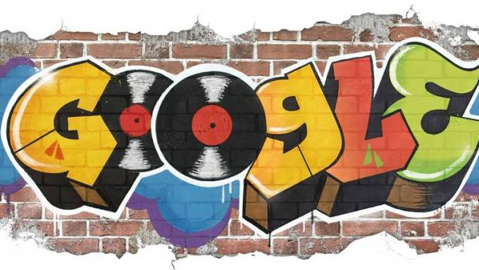 Google Doodle - 44 lata hip-hopu