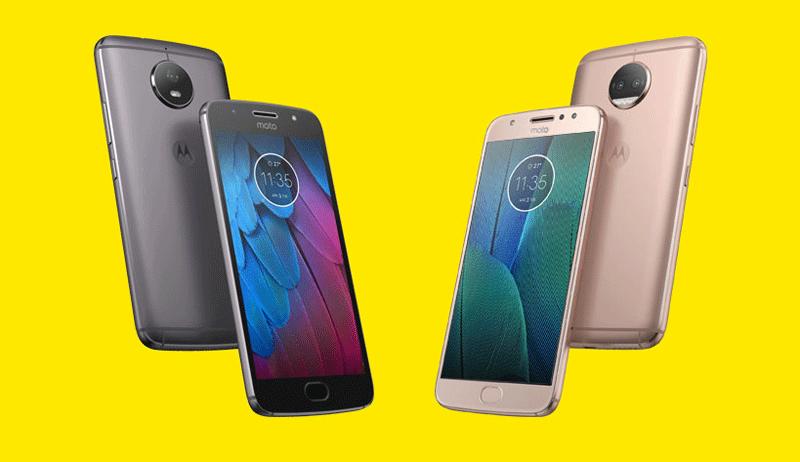 Motorola G5S i G5S Plus (edycja specjalna smartfonów)