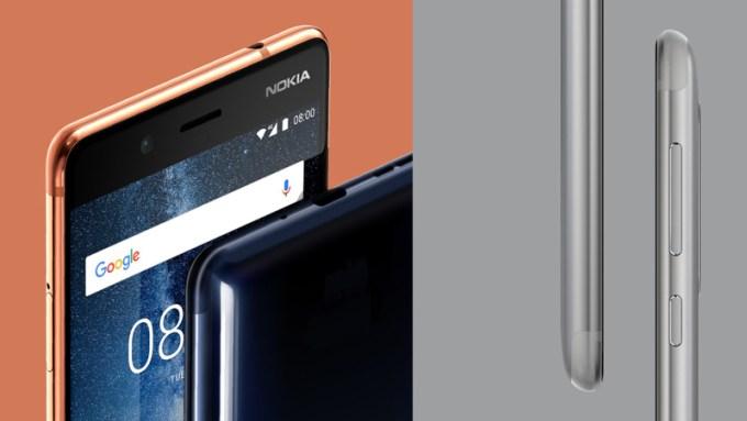 Nokia 8 - design