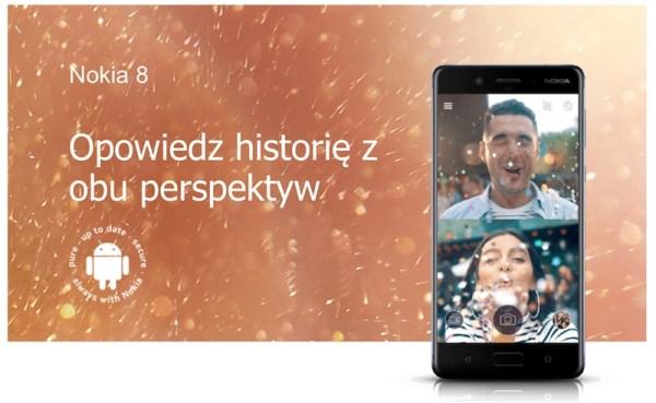 Nokia 8: nowe możliwości smartfona z czystym Androidem