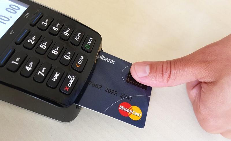 Płatność kartą biometryczną Mastercard (karta i terminal)