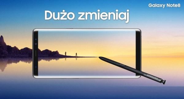 Samsung zaprezentował Galaxy Note8