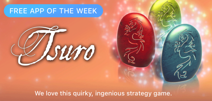 Tsuro - Free App of the Week