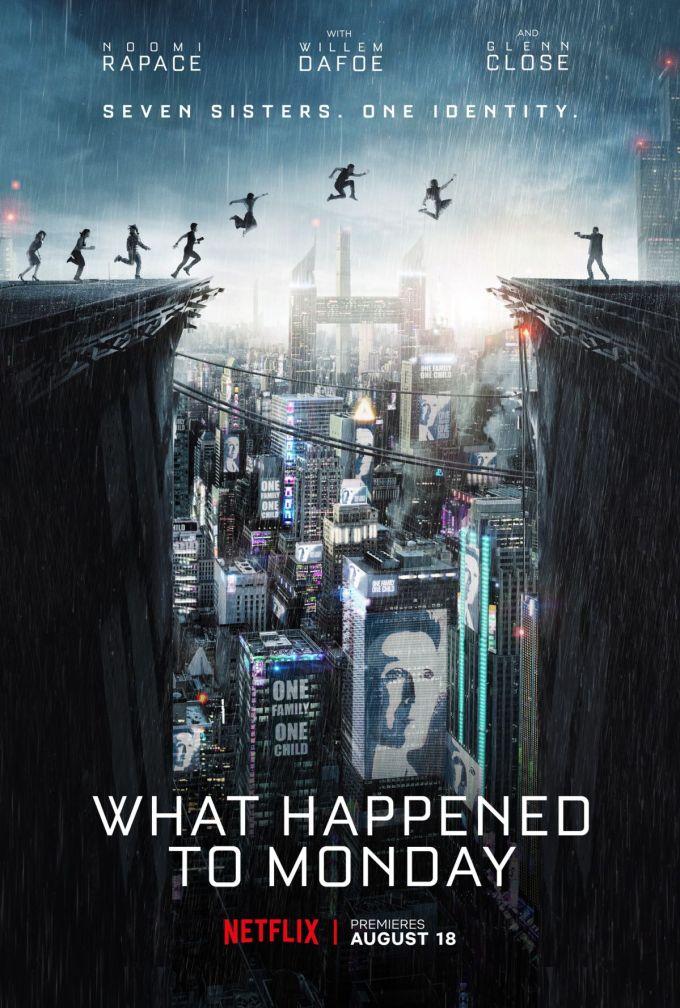 What Happened to Monday - plakat filmu