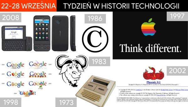 [22-28 września] Tydzień w historii technologii