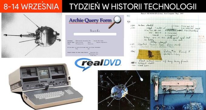 8-14 września - tydzień w historii technologii