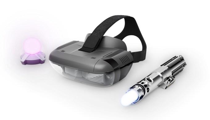 Star Wars Jedi Chellenge (zestaw AR, gogle, wskaźnik)