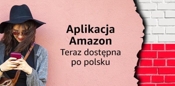 Aplikacja mobilna Amazon dostępna w języku polskim