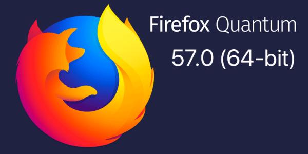 Firefox Quantum 57 ma być 2 razy szybsza od Chrome'a