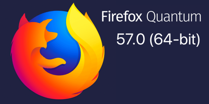 Firefox Quantum 57.0