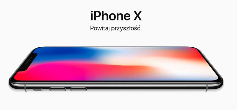 iPhone X - powitaj przyszłość
