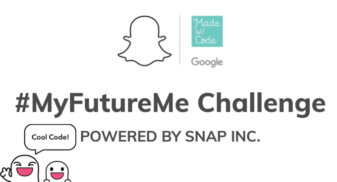 #MyFutureMe (Google Made with Code i Snapchat)