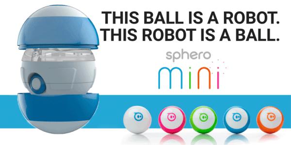Sphero Mini to najmniejszy robot-kula sterowany smartfonem
