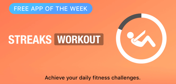 Streaks Workout - Free App of the Week