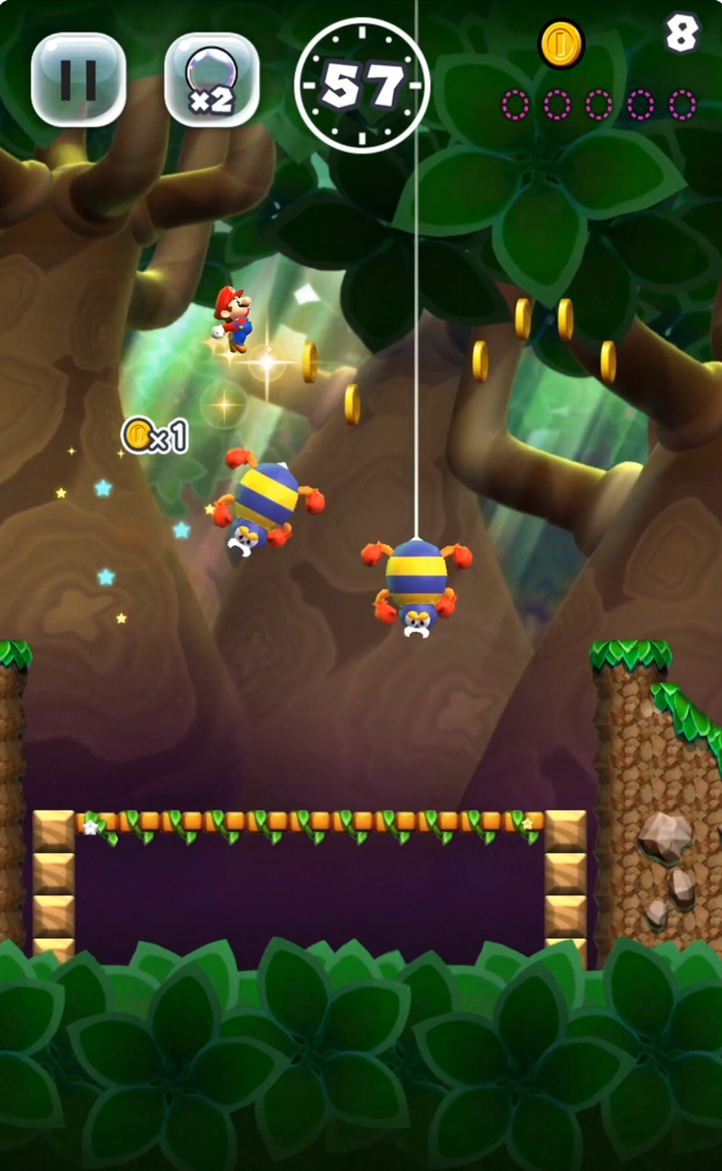 Zrzut ekranu z World Star - Super Mario Run