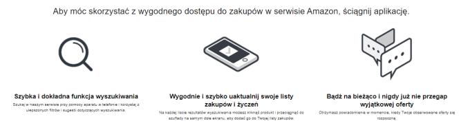 Zalety aplikacji mobilnej Amazona