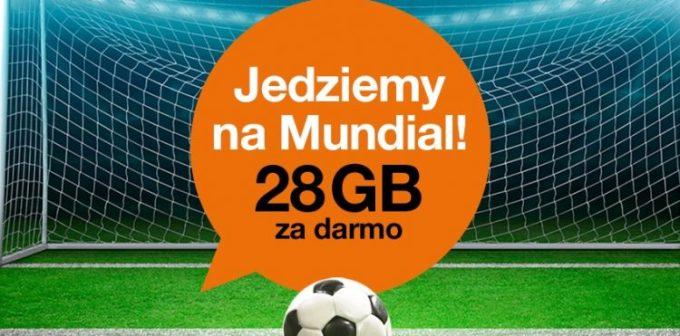 28 GB dla klientów Orange za darmo do 11 października 2017 r.