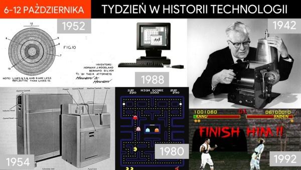 [6-12 października] Tydzień w historii technologii