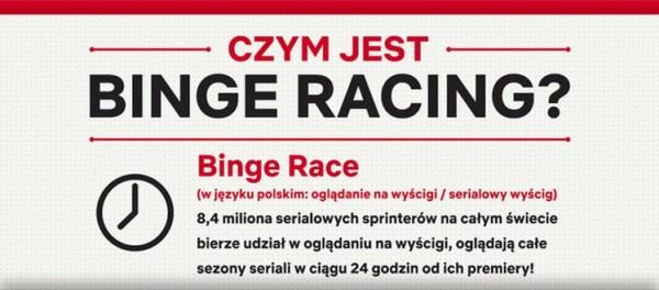 Binge Race, czyli serialowy wyścig na Netflixie