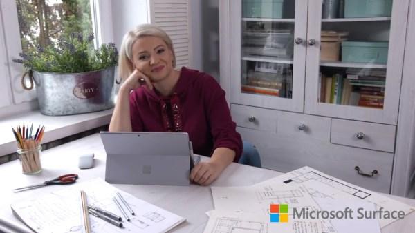 Dorota Szelągowska twarzą kampanii Microsoft Surface Pro