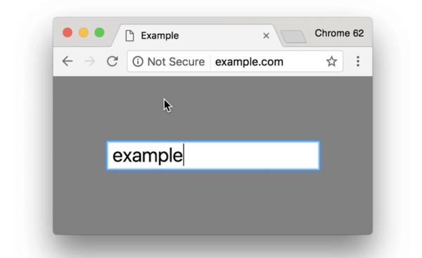 Bezpieczne strony HTTPS w przeglądarce Chrome (2017)