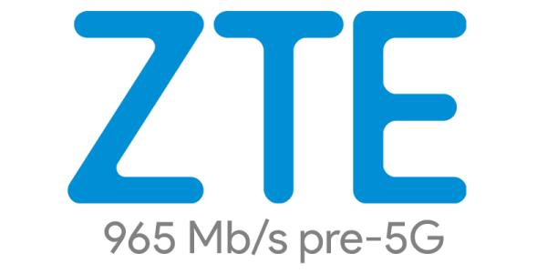 ZTE osiągnęło transfer komórkowy na poziomie 965 Mb/s