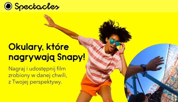 Okulary Snapchata Spectacles dostępne w Polsce