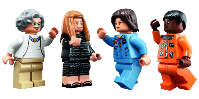 Figurki LEGO: Women of NASA (Kobiety z NASA)
