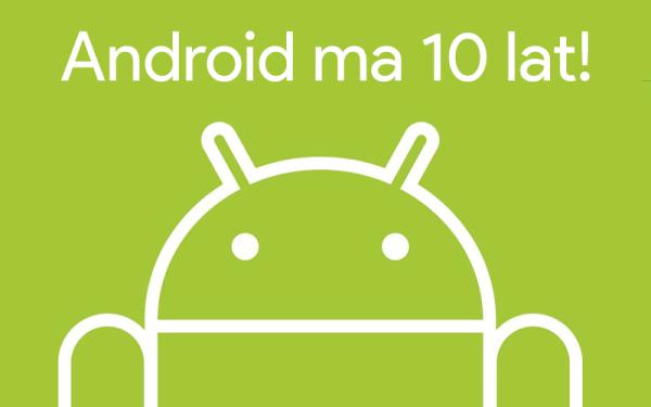 10 lat temu wydano pierwszą publiczną betę Androida