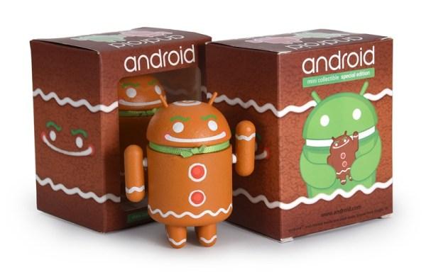 """Nowa świąteczna figurka Androida """"Ginger Gene"""""""