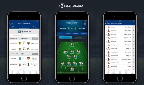 Nowa aplikacja mobilna Ekstraklasa. Bliżej gry!