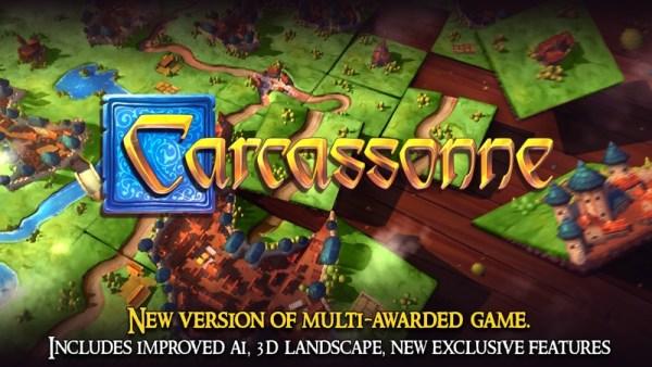 "Gra ""Carcassonne – Tiles & Tactics"" w wersji mobilnej na Androida"