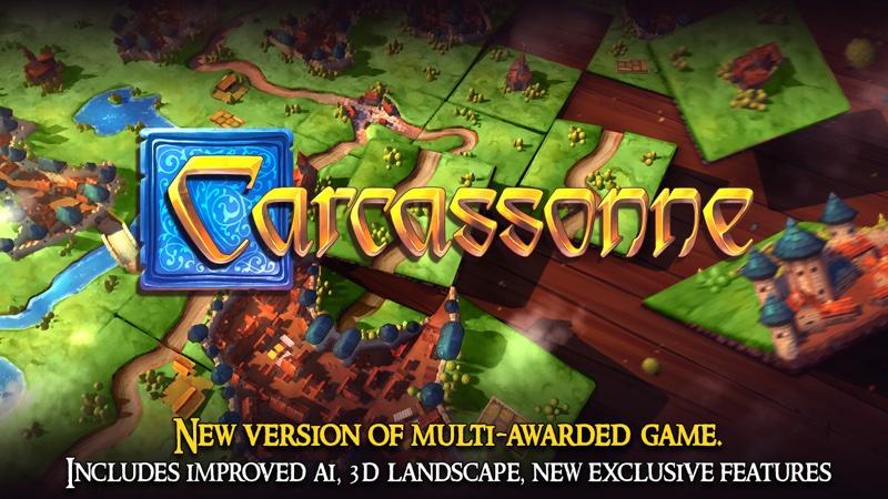 Carcassonne – Tiles & Tactics - logo gry mobilnej na Androida
